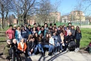 incontro liceali-pensionati a Bologna