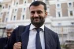 Il Sindaco di Bari Antonio Decaro dopo la riunione al Viminale con il ministro dell'Interno Angelino Alfano, le altre Regioni e l'Anci, sul piano di accoglienza dei migranti, 17 giugno 2015 a Roma. ANSA/ MASSIMO PERCOSSI