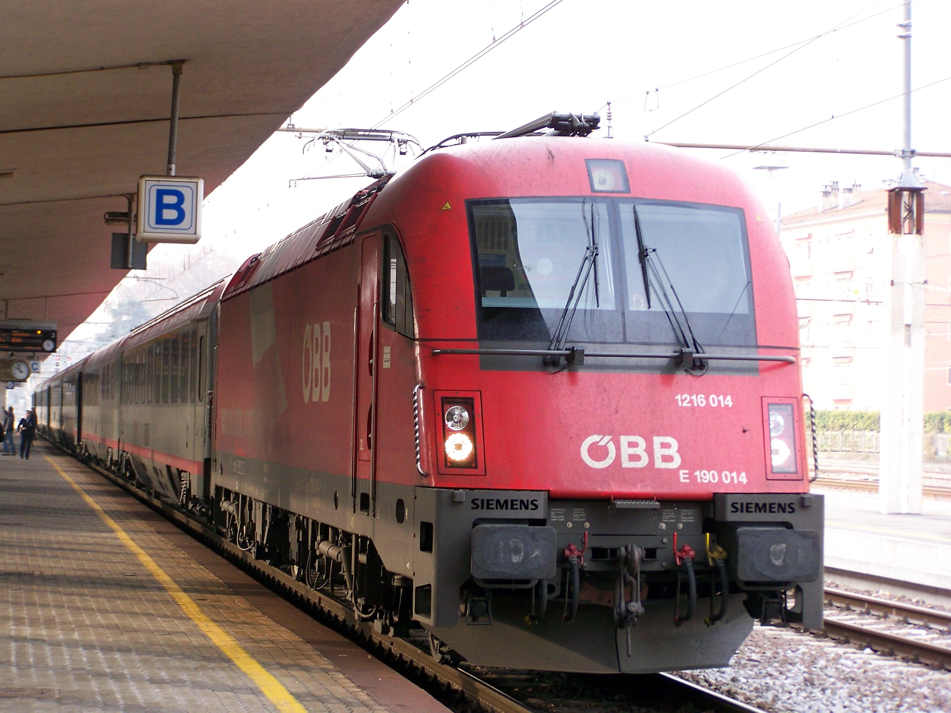 Primavera a monaco con i treni db bb eurocity partenze - Partenze treni verona porta nuova ...